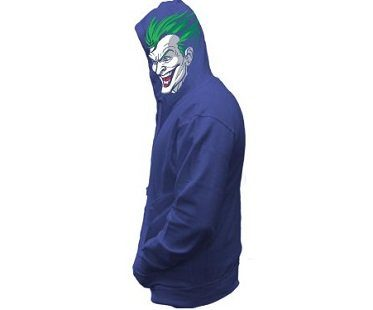 the joker hoodie side