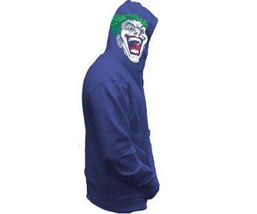 the joker hoodie zip