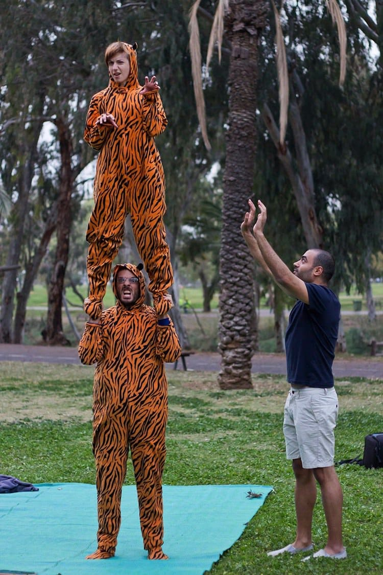 tiger-suit-stand