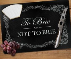 to brie or not to brie cheeseboard