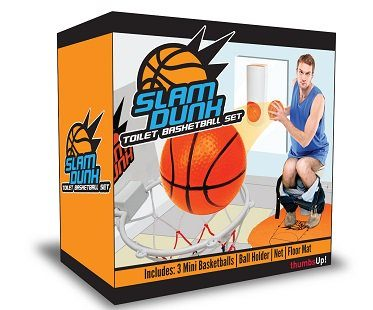 toilet basketball set box