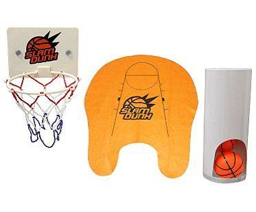 toilet basketball set slam dunk