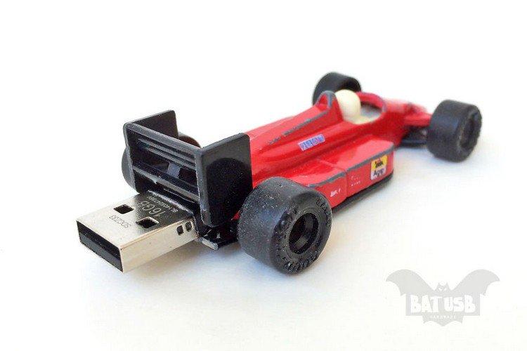 toy f1 car usb