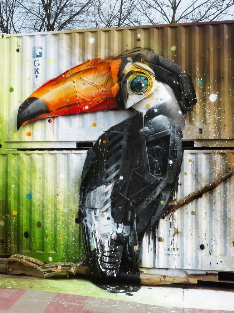 trash toucan