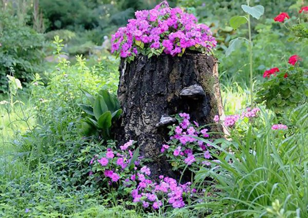 tree-stump-planter-purple