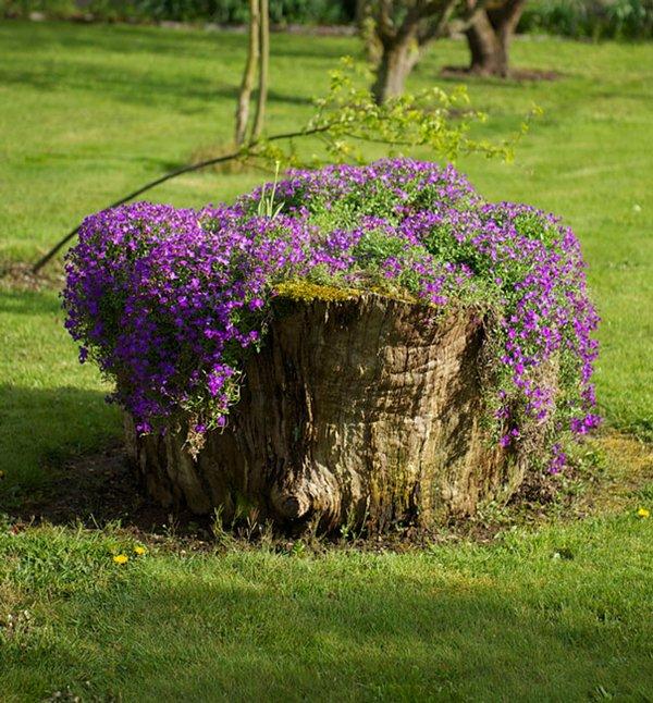 tree-stump-planter-round