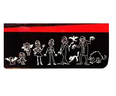 vampire family car decal