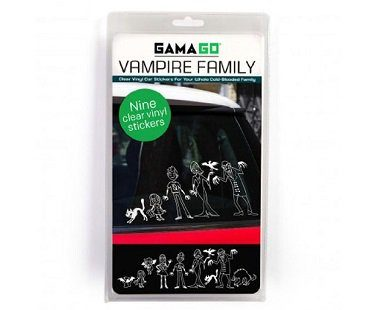 vampire family car decal pack