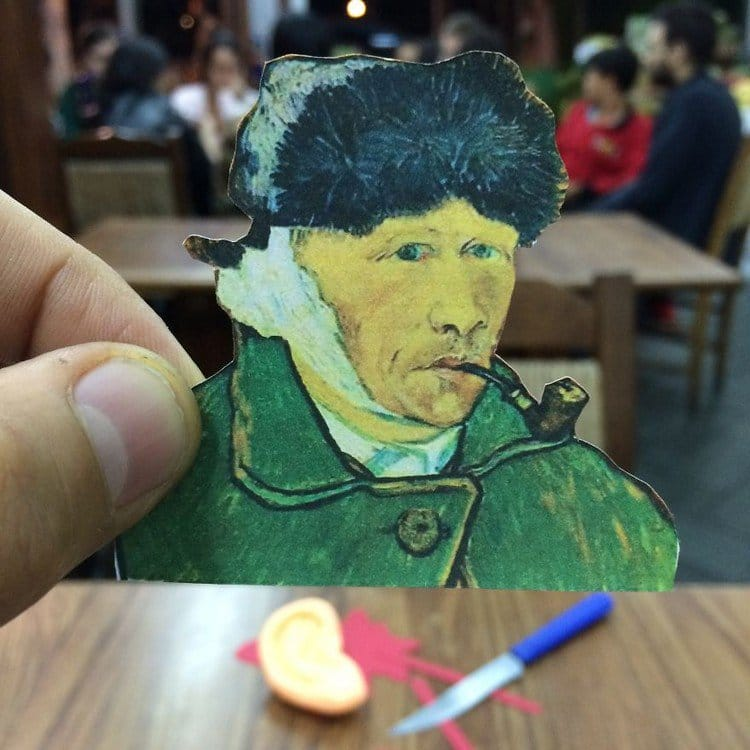 van gogh ear knife