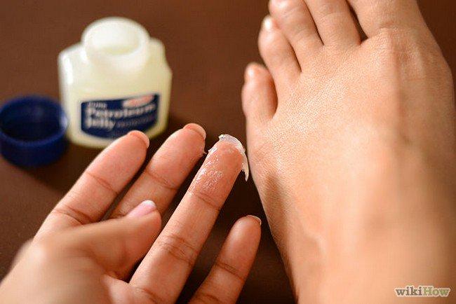 vaseline foot