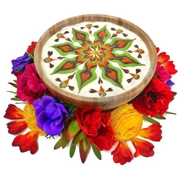 vegan-mandala-dessert-flowers