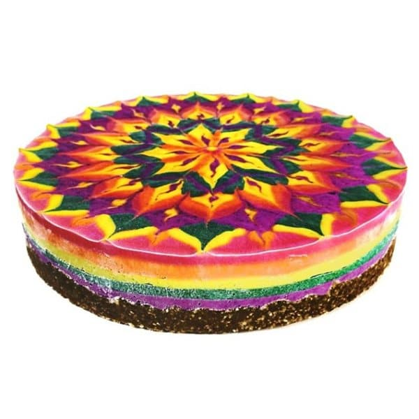 These Mandala Cakes Are Almost Too Beautiful To Eat By