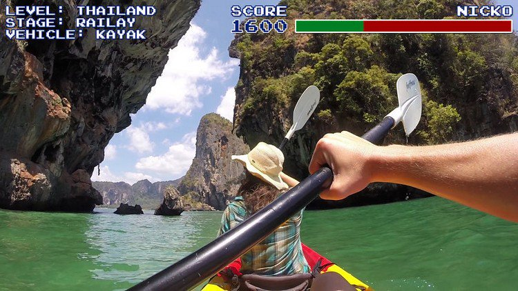 video game thai kayak