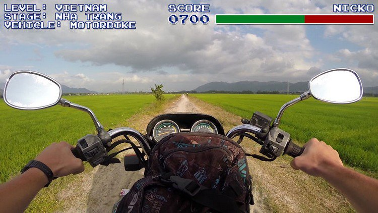 video game vietnam motorbike