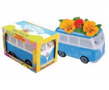 vw campervan flower pot box