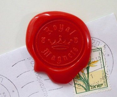 wax seal magnets royal