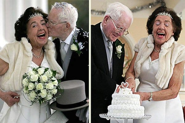 Wedding Gifts For Older Couple On Second Marriage : wedding-elderly-onemonth