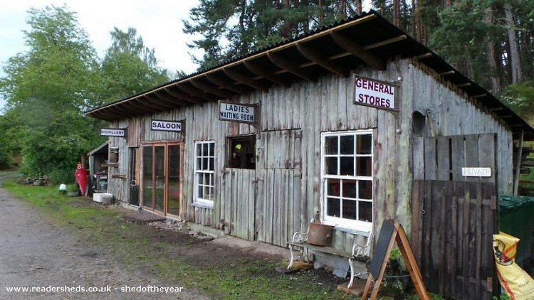 wild west shed