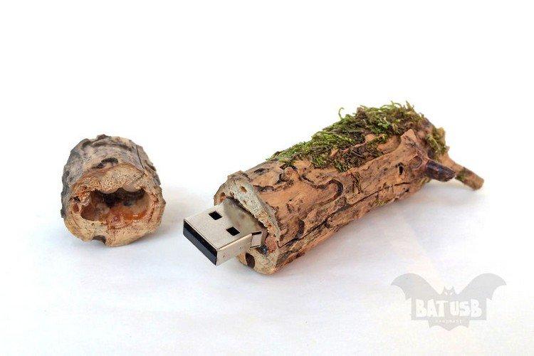 wood moss usb