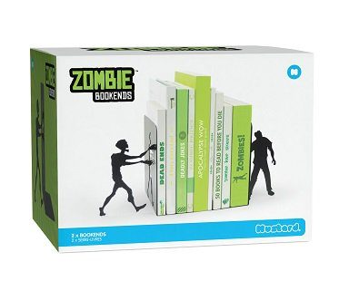 zombie bookends box