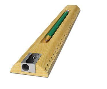 3-in-1 ruler sharpener