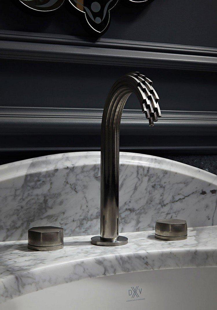 3D printed faucet modern metal