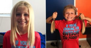 8 Year Old Boy Bullied For Growing His Hair For Kids With Cancer
