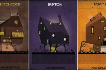 Artist Imagines The Homes Of Movie Directors
