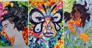 Ayobola Kekere-Ekun Paper Artworks