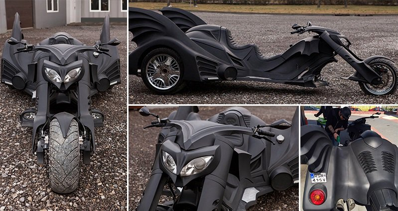 This Batmobile Trike Is One Of The Coolest Things You Will