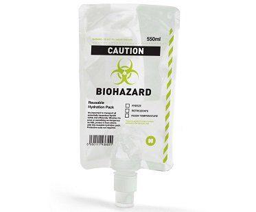 Biohazard Drink Pouch plastic