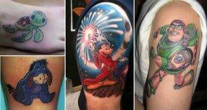 Cartoony Tattoos