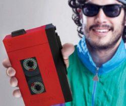 Cassette Player Hip Flask