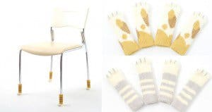 Cat Socks For Tables And Chairs