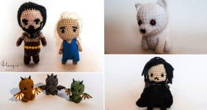 Crochet Game Of Thrones Characters