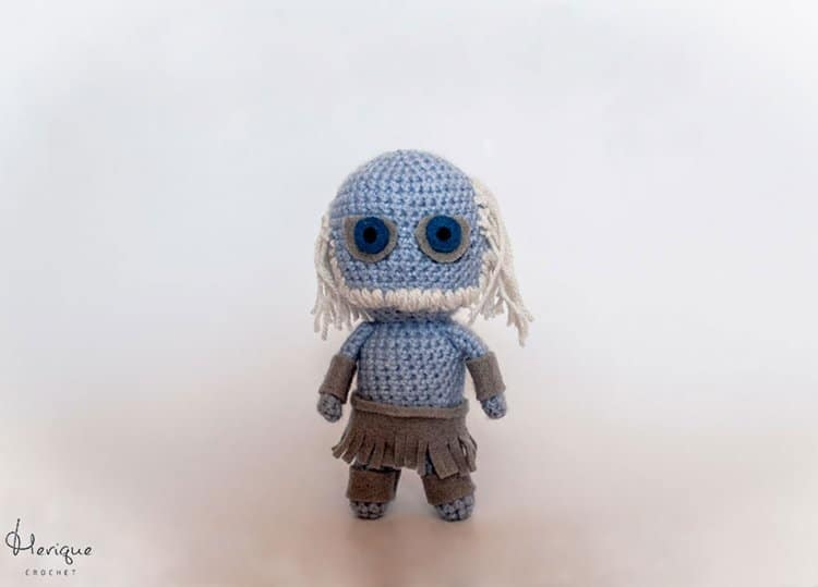 Cute-Crochet-Game-of-Thrones-Characters-by-Merique-Crochet-a-white-walker