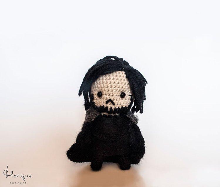 Cute-Crochet-Game-of-Thrones-Characters-by-Merique-Crochet-john-snow