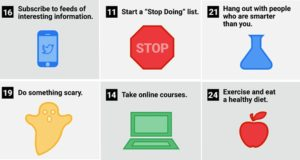 Daily Habits To Make Yourself Smarter