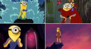 Disney Prinesses As Minions