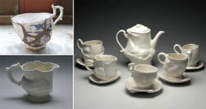 Eluned Glyn Breaks And Rebuilds Thrift Store Pottery