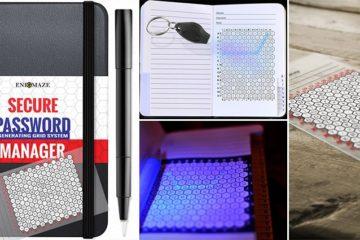 Enigmaze Password Log Book