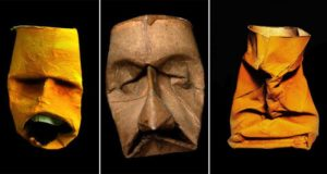Faces Out Of Toilet Roll Inners