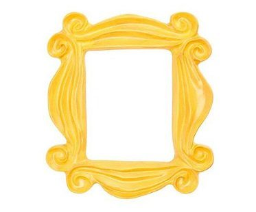 Friends Peephole Frame Replica yellow