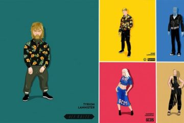 Game Of Thrones Characters Streetwear Makeover