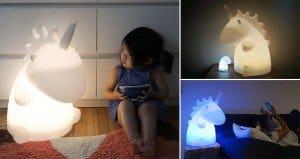 Giant Unicorn Lamps