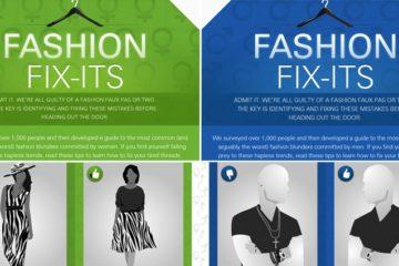 How To Fix Fashion Faux Pas