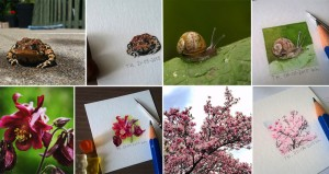 Instagram Photos Turned Into Mini Paintings