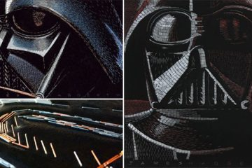 James Haggerty Star Wars Staple Art
