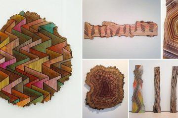 Jason Middlebrook Geometric Tree Art