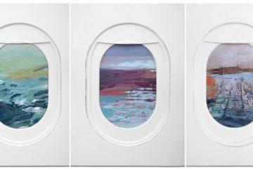 Jim Darling Airplane Window Landscapes